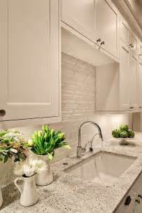 White Backsplash Tile For Kitchen White Granite Tiles Backsplash Decozilla
