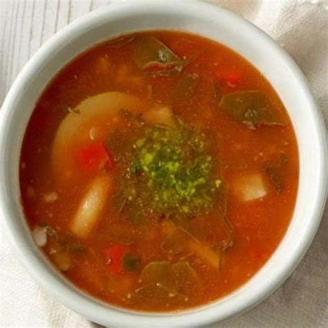 Kids Low Fat Garden Vegetable Soup With Pesto Panera Garden Vegetable Soup Panera