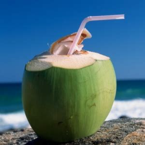 beauty catlouge drink tender coconut  hydrate  skin