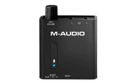 Headphone Portable m audio portable headphone lifier w 2 jacks