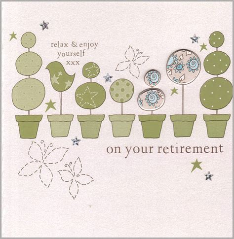 how to make a retirement card retirement cards images