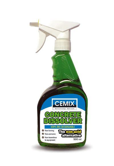 Dissolver Floor Remover - cemix products ltd products concrete dissolver
