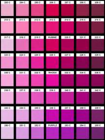 pink color chart pink pantone color chart quotes
