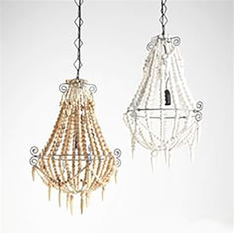small white chandelier boho white beaded chandelier small the gilded pear