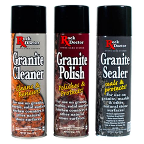 Products To Clean Granite Countertops by Faq Rock Doctor Granite Cleaner