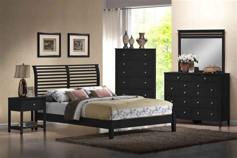 decorating with black bedroom furniture stunning best 25