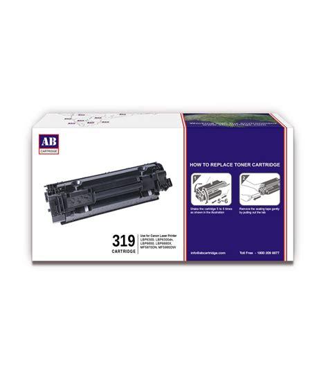 Toner Canon 319 Ii ab 319 black toner cartridge canon 319 black toner