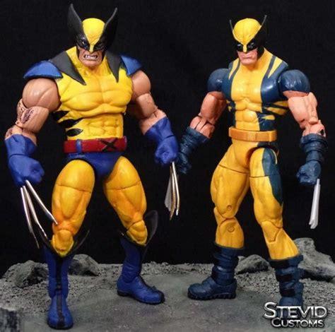figure wolverine wolverine marvel legends custom figure by stevid