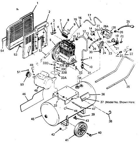 craftsman portable air compressor 919 176941 repair parts