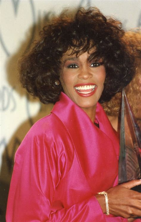 file whitney houston 21st american music awards february whitney houston photos photos file photo whitney