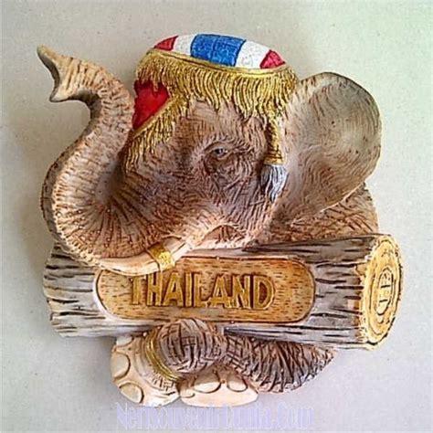 Souvenir Mancanegara Magnet Kulkas Thailand Gajah jual souvenir magnet kulkas gajah thailand