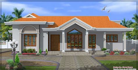 kerala home design 1 floor single floor house designs kerala house planner