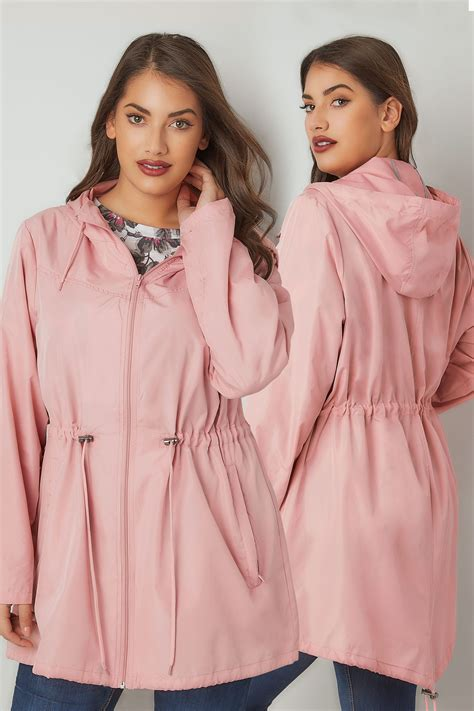 Free Address Finder Uk By Name Baby Pink Pocket Parka Jacket With Plus Size 16 To 36