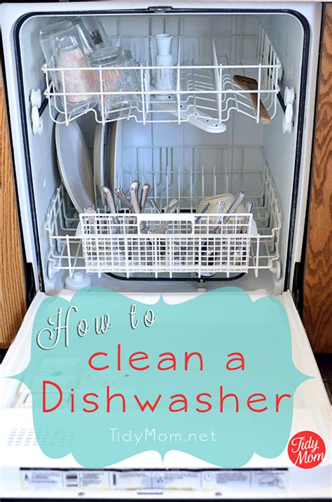 house cleaning how to clean your dishwasher spring cleaning challenge