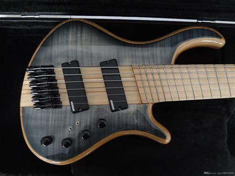 fanned fret bass guitar mayones custom bass guitar 6 string mayones fanned frets
