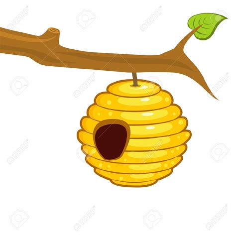 bee hive clip best beehive clipart 17663 clipartion