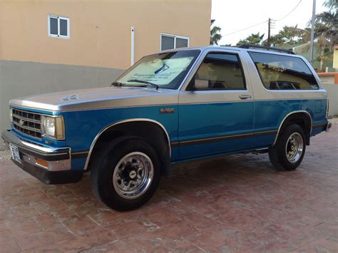 1987 chevrolet blazer 1987 chevrolet blazer 4x4 for sale autos post