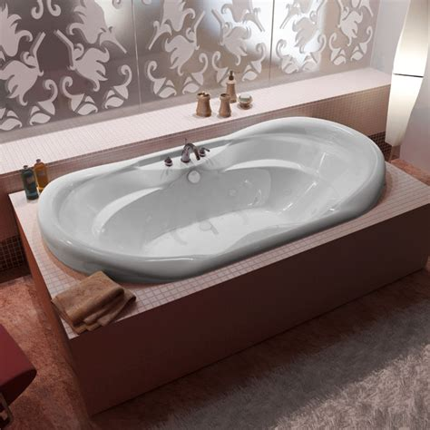 venzi grand tour aline 41 x 70 oval air whirlpool jetted