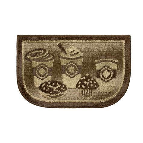 4 X 8 Kitchen Rug Structures Coffee 18 In X 30 In Kitchen Rug Ymk003504 The Home Depot