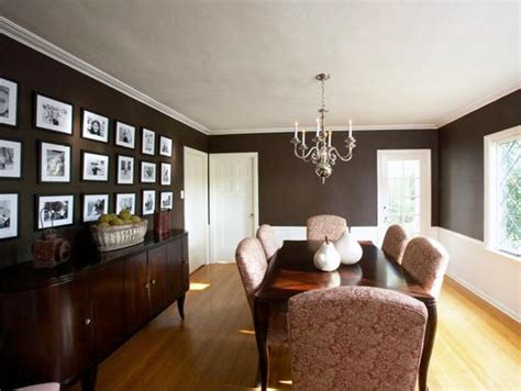 Brown Dining Room by Brown Dining Room Walls
