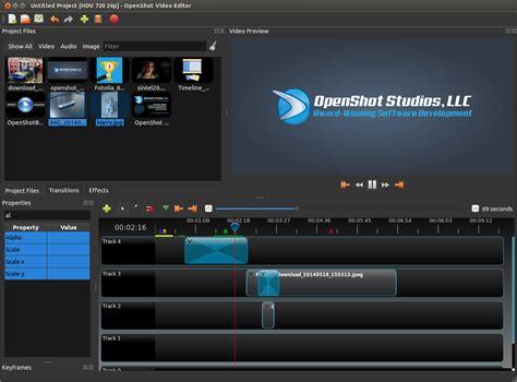 blogger video editor openshot video editor blog june july development