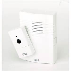 hpm wireless door chime white bunnings warehouse