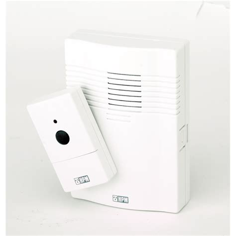 hpm wireless door chime white bunnings warehouse