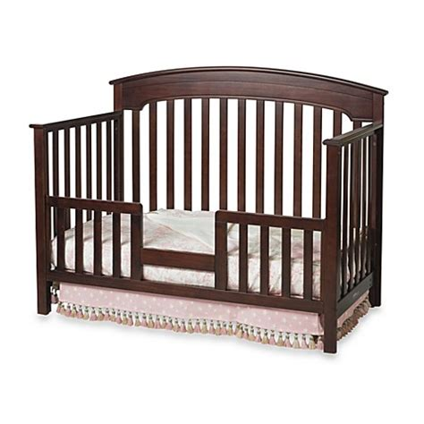 Convertible Crib Guard Rail Child Craft Toddler Guard Rail For Convertible Cribs In Cherry Bed Bath Beyond