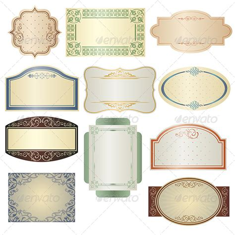 vintage sign templates free vintage frames graphicriver