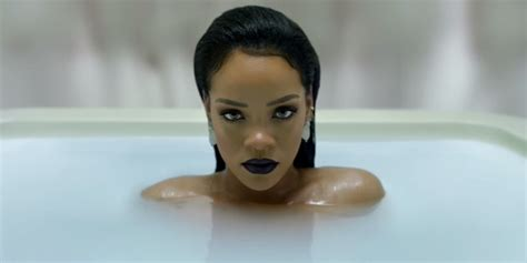rihanna bathroom rihanna sits in the bath as we all still wait for her to