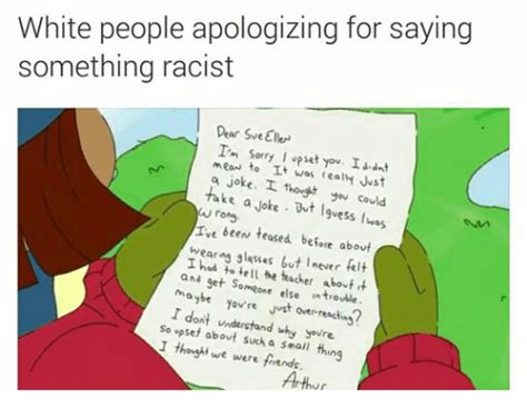 Apology Letter To Friend For Teasing White Apologizing For Saying Something Dear Sveellen I M Sorry I Upset You I Ant