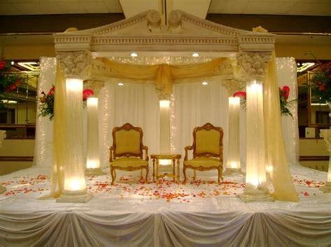 funfunia stage decoration  weddings