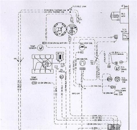 auto wiring diagram chevrolet camaro  engine harness electrical system diagram