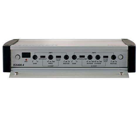 Kickers Limited 4 kicker car audio kx400 4 kx series 4 channel stereo lifier 400w 40kx4004 limited
