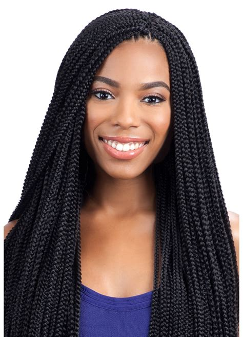 model model glance crochet braid small box braid