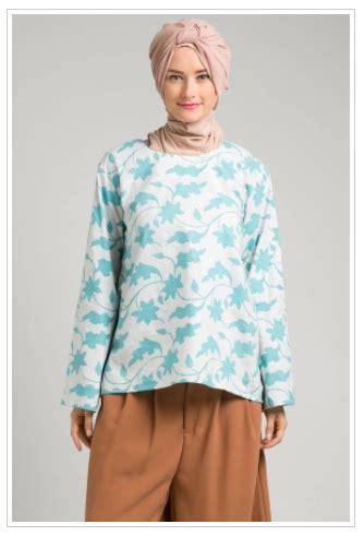 Baju Muslim Remaja Masa Kini trend baju muslim atasan batik modis untuk remaja masa kini