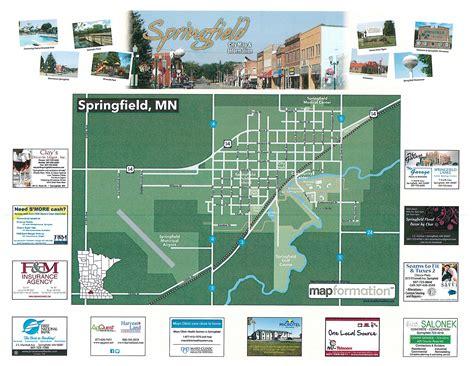 springfield il map springfield brochure city map springfield minnesota