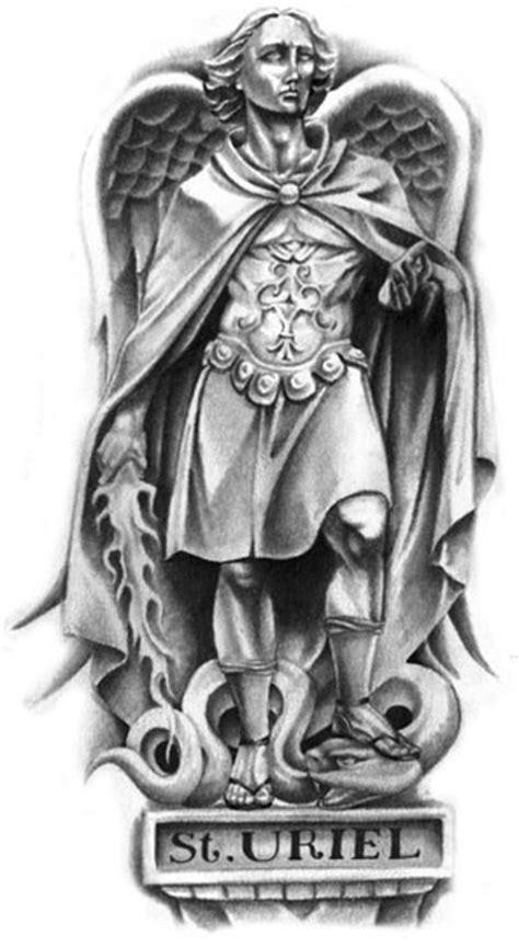angel uriel tattoo archangel uriel tattoo serpent tattoo tattoo design