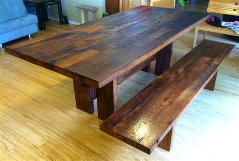 barn wood dining room table reclaimed white oak dining table set the best wood furniture