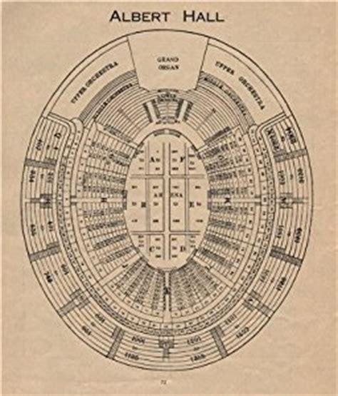 royal albert floor plan royal albert vintage seating plan concert print 1936 co uk
