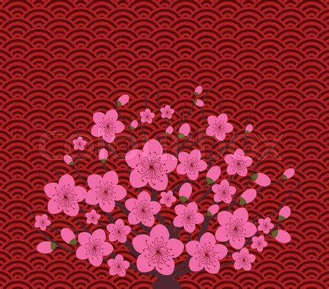 new year flower pattern vector new year greeting card background happly new year
