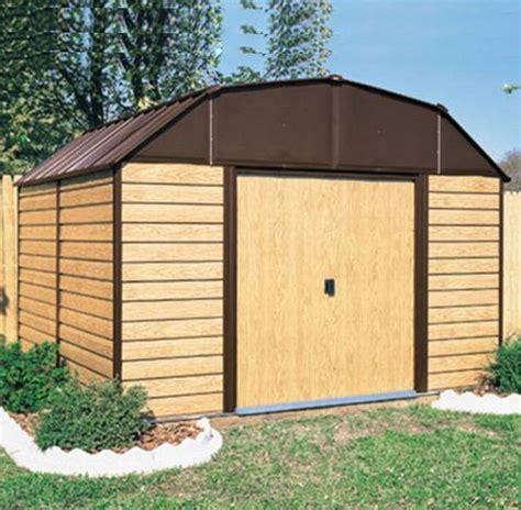 Arrow Shed 10x14 by 10x14 Storage Shed Arrow Woodhaven 10x14 Lawn Utility