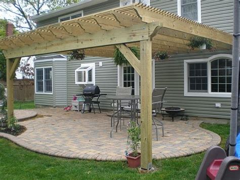 Pics photos pergola plans how to build a pergola attached to house