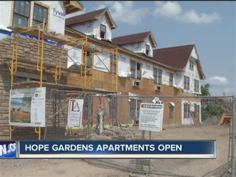 hope program housing hope garden apartments open friday wkbw com buffalo ny