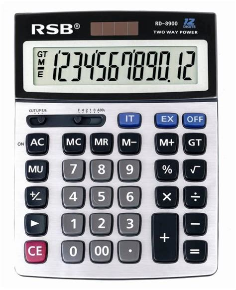 dual power office calculator rd 8900 rsb china