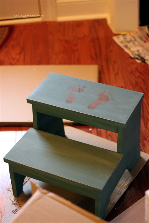 diy toddler step stool with rails childs step stool plans free plans woodworking resource