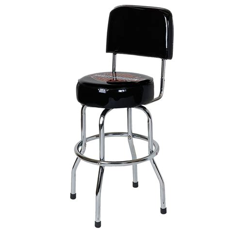 Garage Bar Stools by Craftsman 61828 Chrome Vinyl Hydraulic Hydraulic Stool
