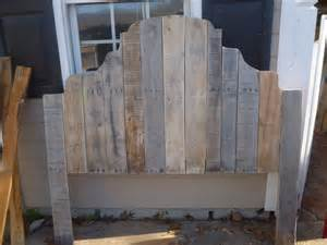 headboard made from all pallets pallet furniture