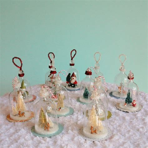 making christmas bell ornaments diy vintage inspired bell jar ornaments my so called crafty