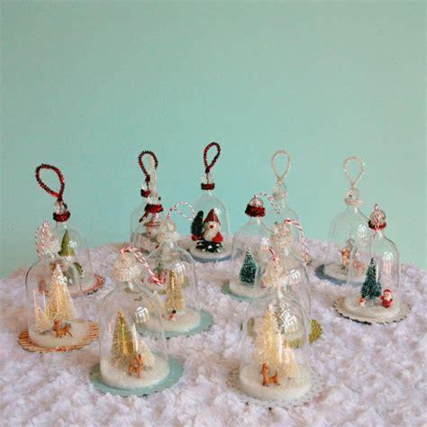 diy vintage inspired bell jar ornaments my so called